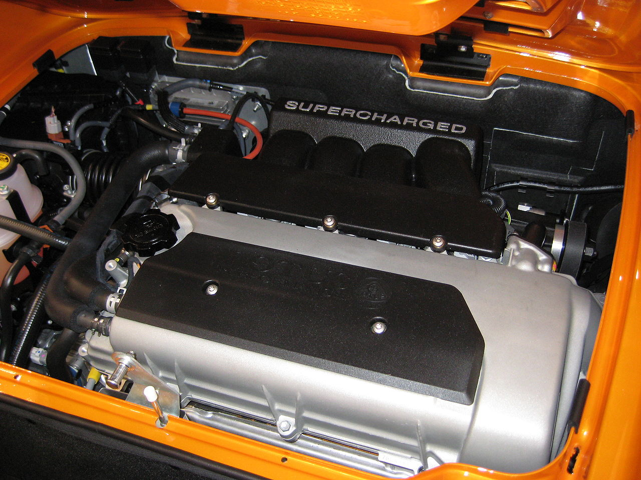 Lotus_Supercharged_Engine