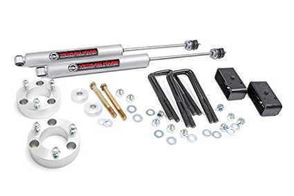 """Rough Country 74530 3"""" Lift Kit with Shocks for 2005-2018 Toyota Tacoma"""