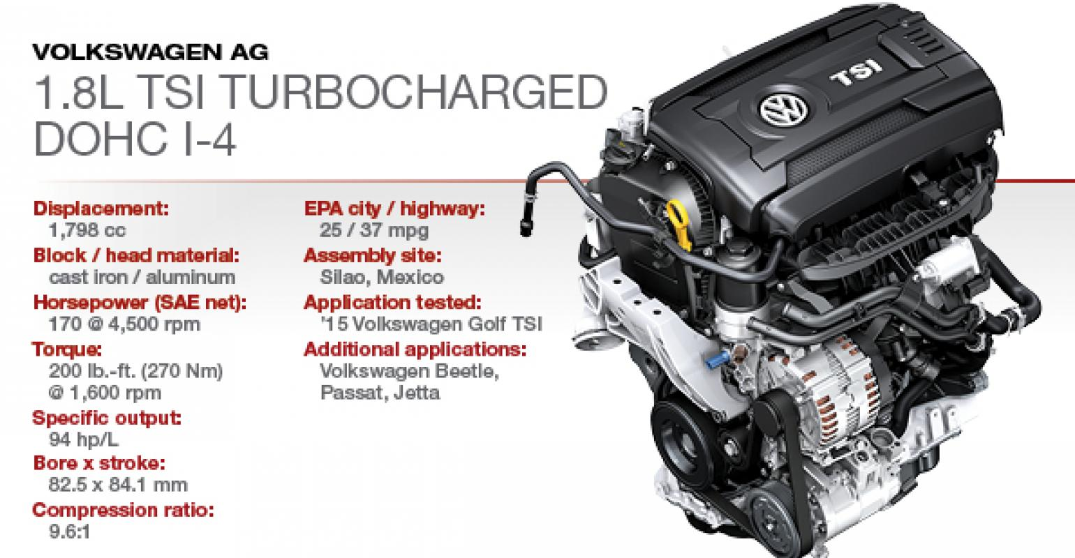 Vw Ea888 1 8 Tsi Engine Problems And Specs