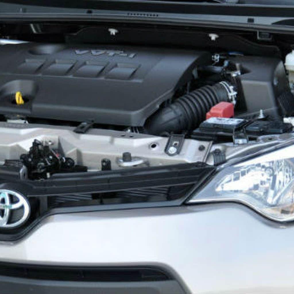 Toyota Corolla oil capacity