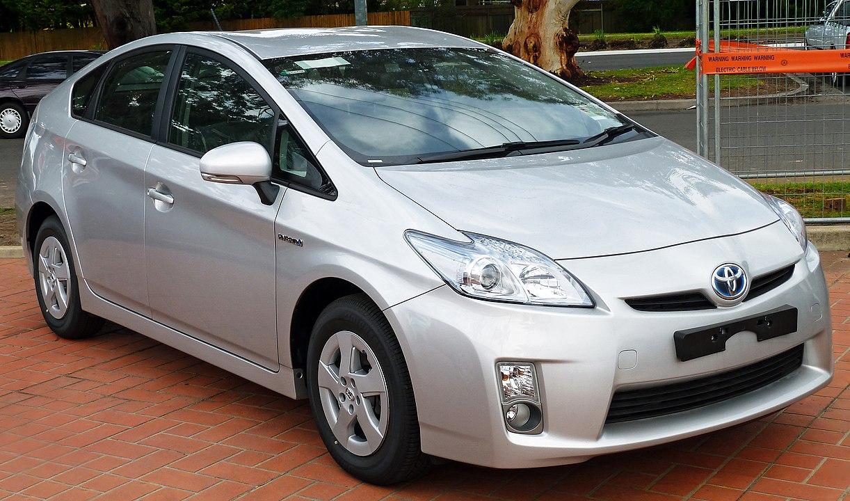 Toyota Prius oil capacity
