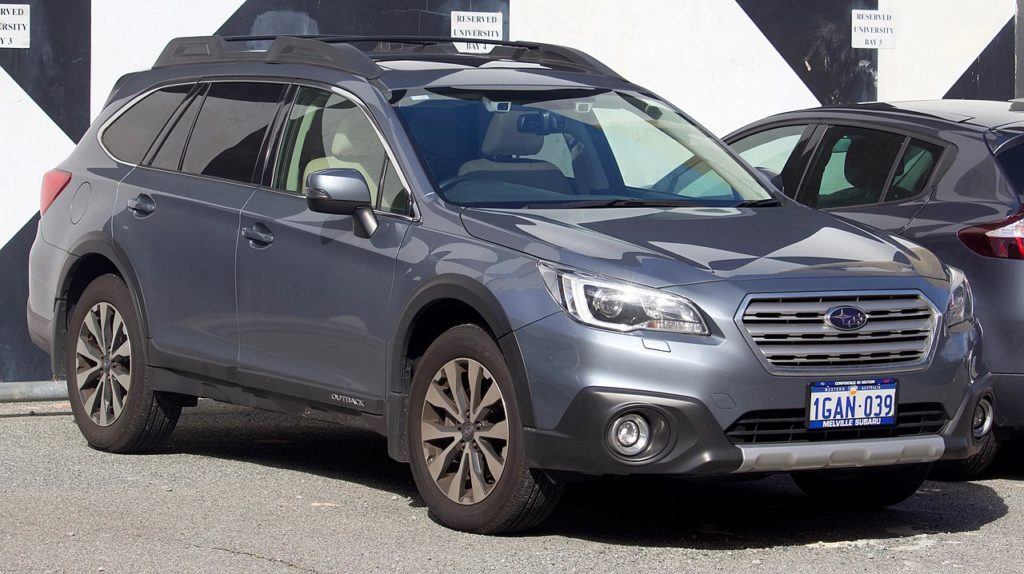 2019 subaru outback oil capacity