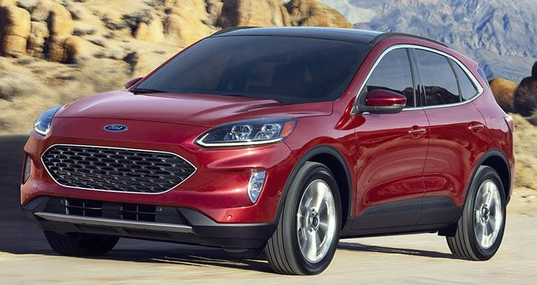 2020 ford escape oil capacity