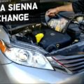 toyota sienna oil change