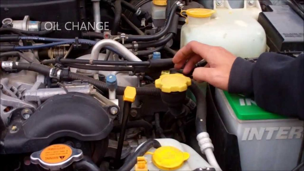 subaru outback oil change