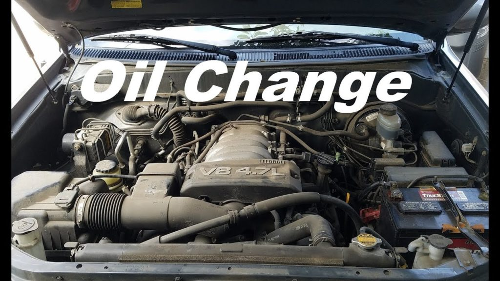 toyota sequoia oil engine capacity change
