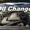 toyota sequoia oil change