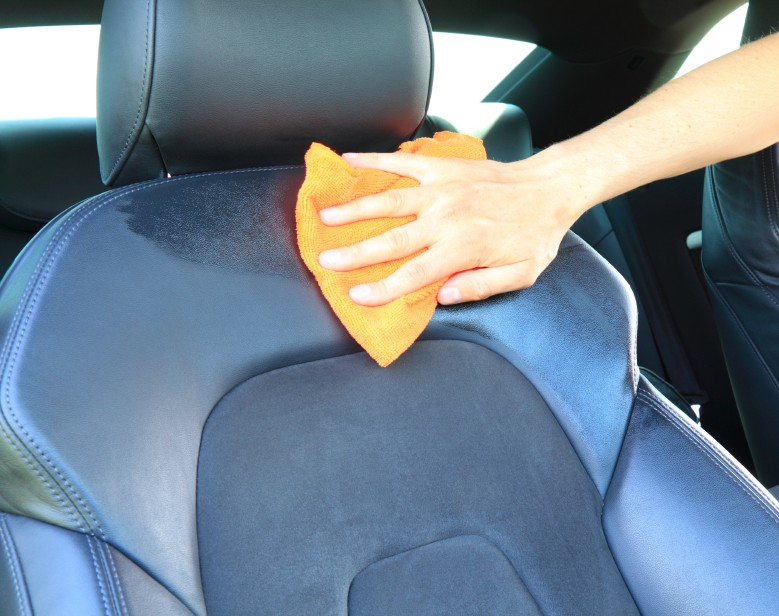 leather seats cleaning