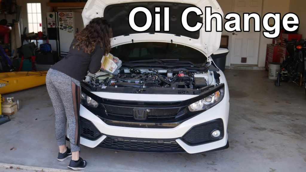 2019 honda civic oil change