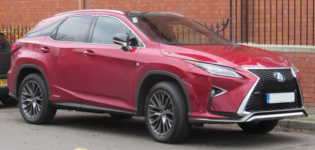 2019 lexus rx oil change