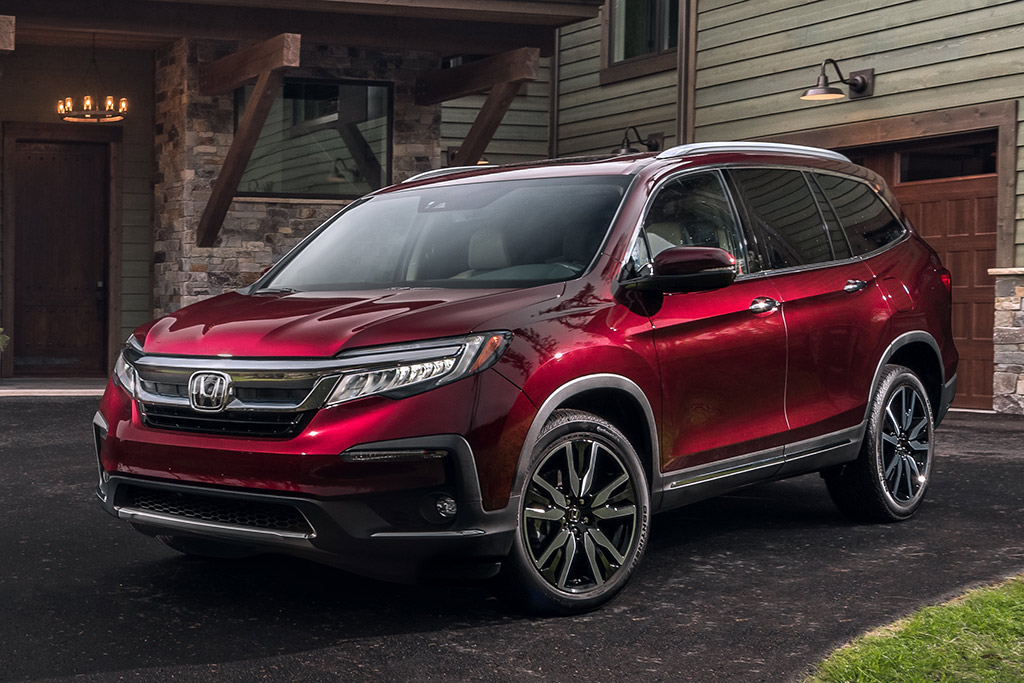 Honda Pilot transmission fluid capacity