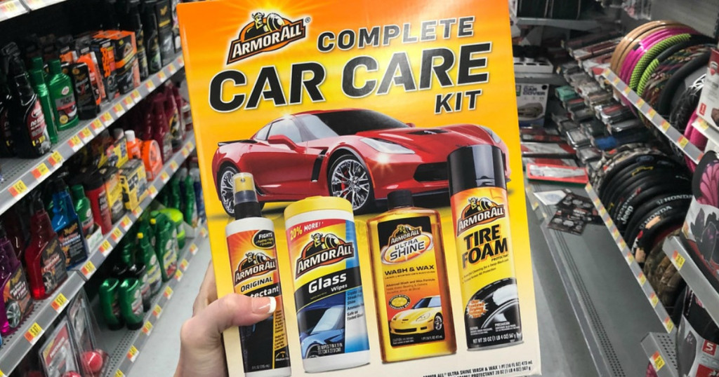 complete car care cleaning kit