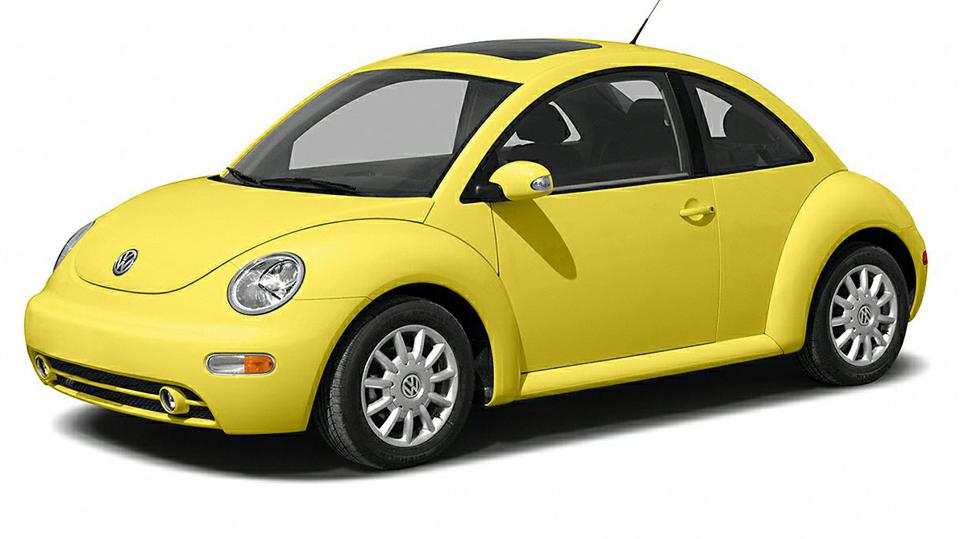 Volkswagen New Beetle oil capacity