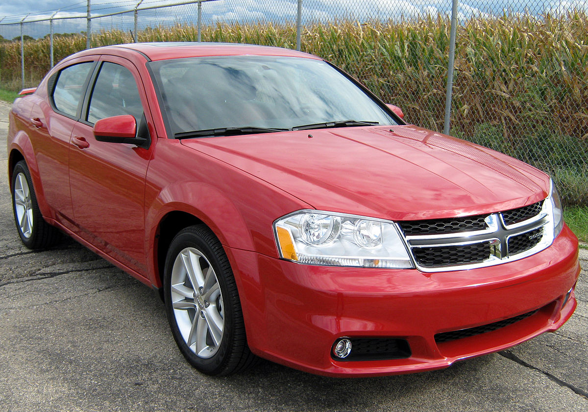 dodge avenger oil capacity