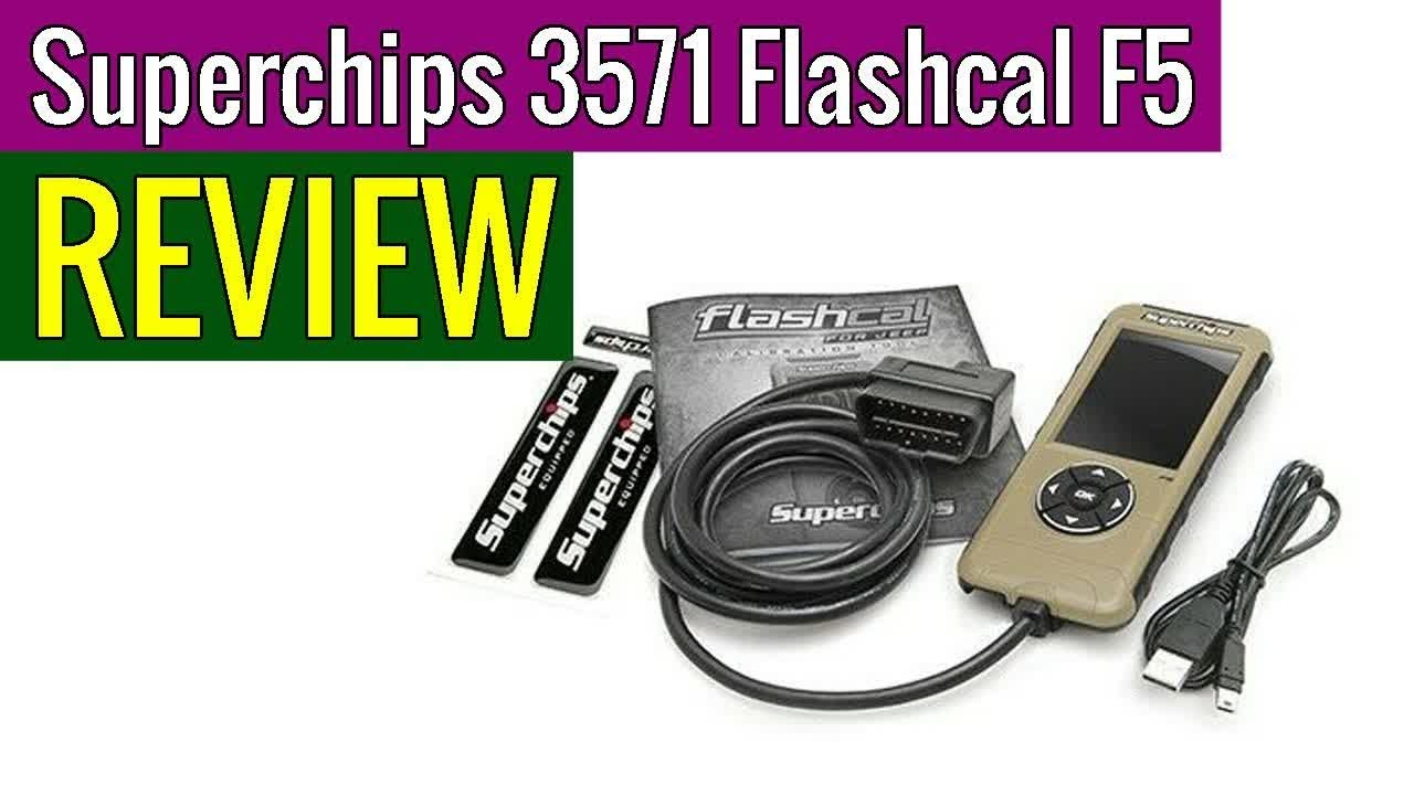 Superchips 3571 Flashcal F5 Tuner review